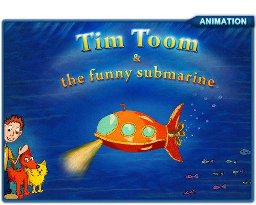 Tim Toom, interactive children book